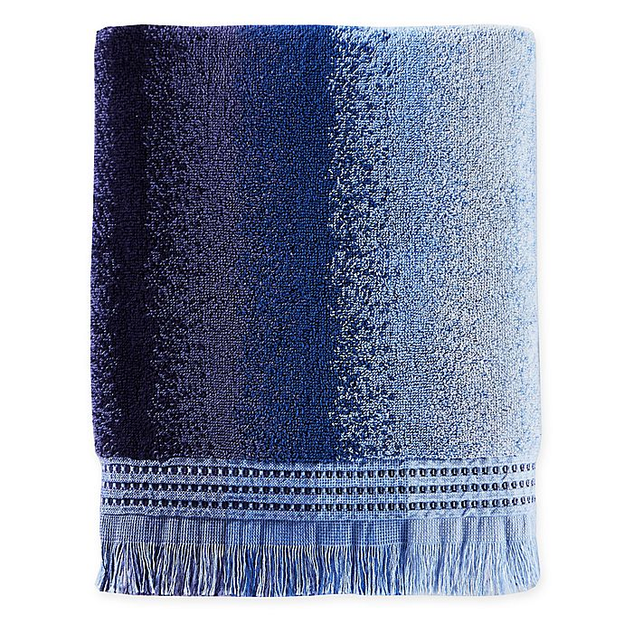 Alternate image 1 for Eckhart Stripe Bath Towel in Blue
