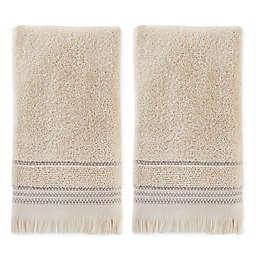 SKL Home Jude Fringe Hand Towels (Set of 2)