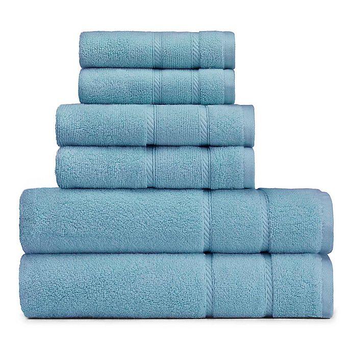Alternate image 1 for Nautica® 6-Piece Belle Haven Bath Towel Set