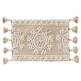 Medallia Handcrafted Bath Mat in Natural
