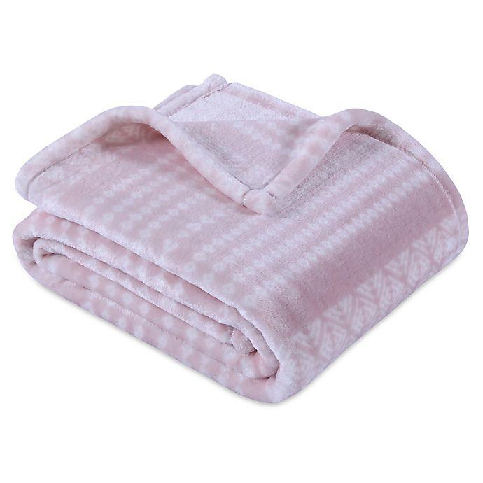 Alternate image 1 for Berkshire Blanket® VelvetLoft Throw in Pink