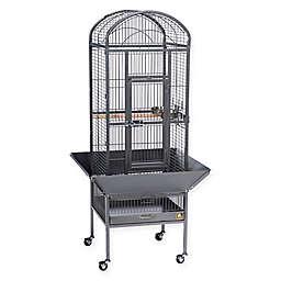 Prevue Pet Products Dometop Bird  Cage in Black Hammertone