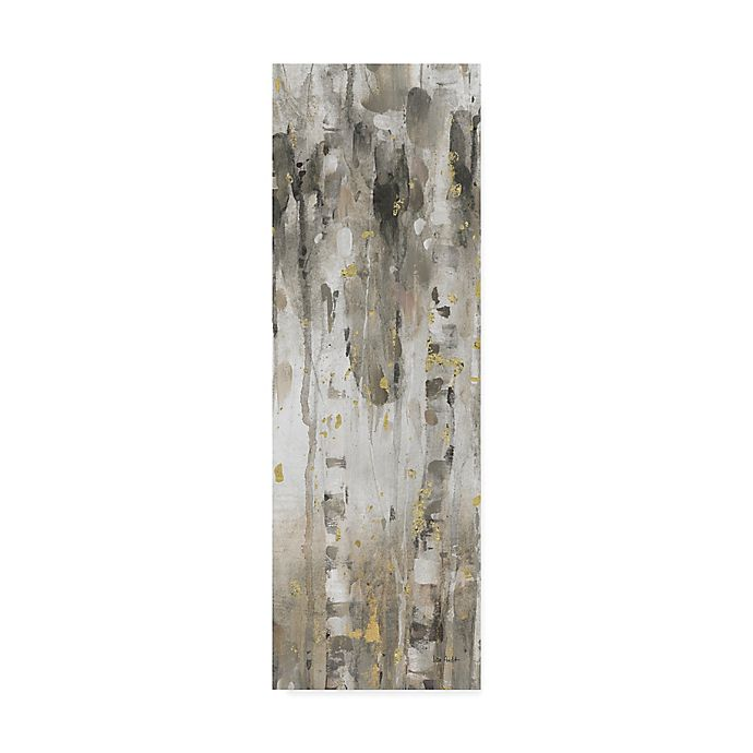 Alternate image 1 for Trademark Fine Art The Forest IV 10-Inch x 32-Inch Canvas Wall Art