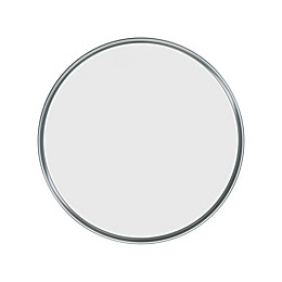Umbra® Hub Round Wall Mirror in Grey