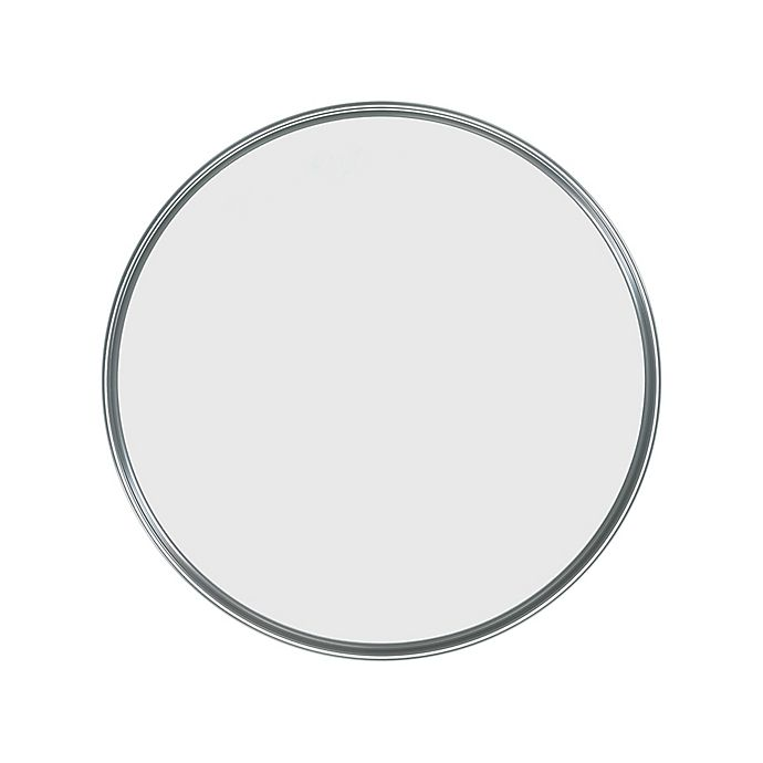Alternate image 1 for Umbra® Hub Round Wall Mirror in Grey