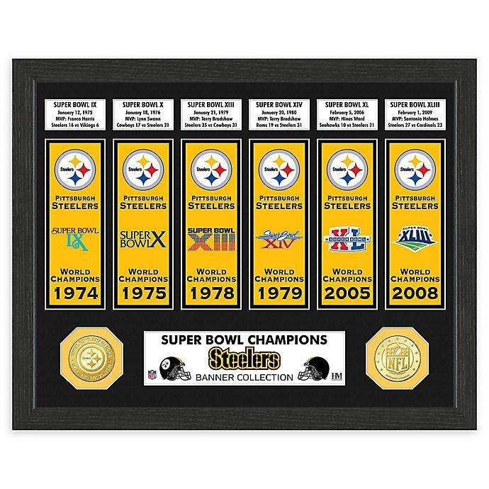 promo code c9b0b 134b4 NFL Pittsburgh Steelers Super Bowl Champions Banners and ...