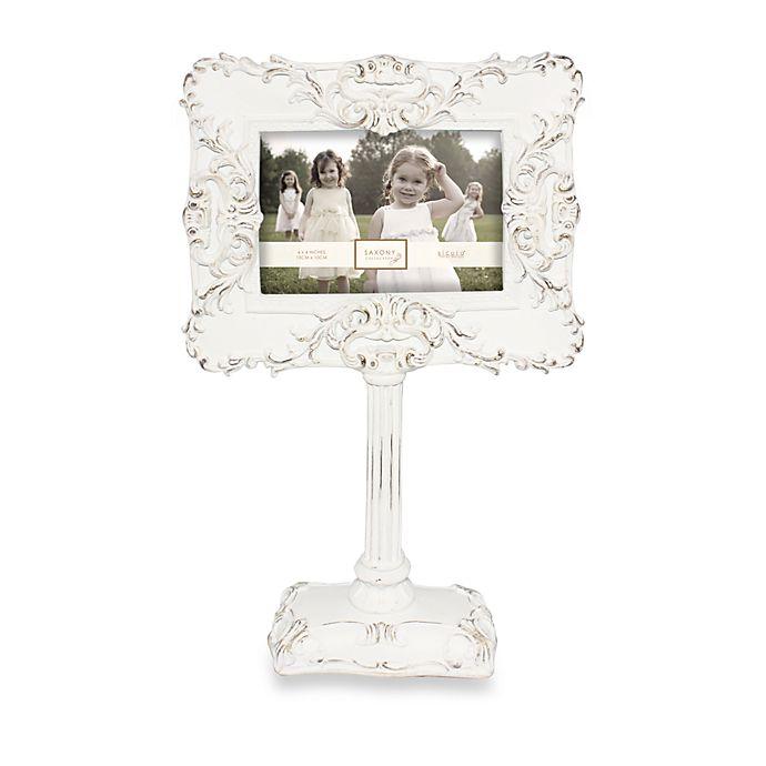 Argento Pedestal Frame in Cream | Bed Bath & Beyond