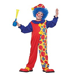 Size 0-6M Clown Infant Halloween Costume