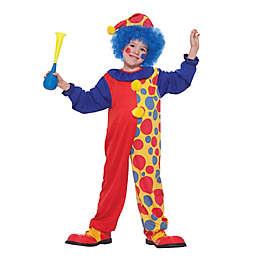 Size 0-6M Clown Infant Halloween Costume