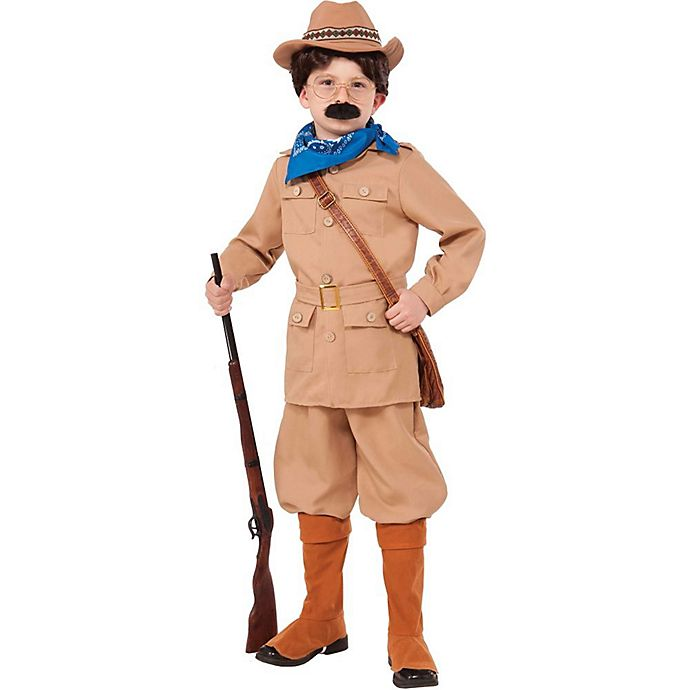 Alternate image 1 for Teddy Roosevelt Large Child's Halloween Costume