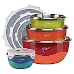 Fiesta® 8-Piece Microwave Safe Mixing Bowl Set