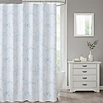 Marble 70-Inch x 72-Inch Shower Curtain in Blue