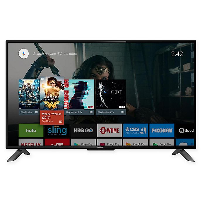 Westinghouse© 55-Inch 4K Ultra HD Smart Television with