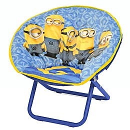 Minions™ Upholstered Mini Saucer Kid's Chair