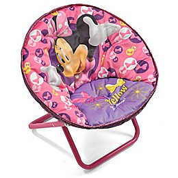 Disney Polyester Upholstered Minnie Chair