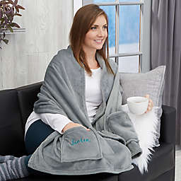 Stylish Name Personalized Cuddle Wrap