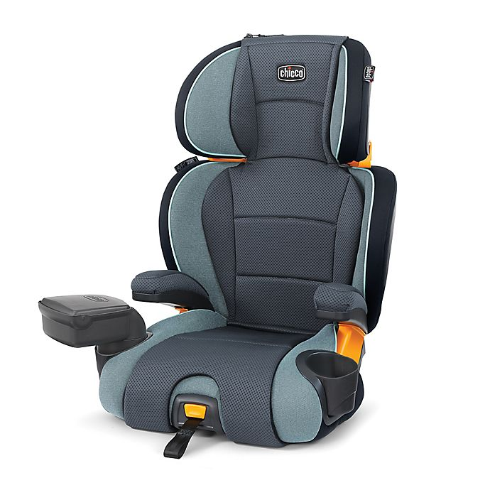 Alternate image 1 for Chicco® KidFit® Zip 2-In-1 Belt Positioning Booster Car Seat in Midnight