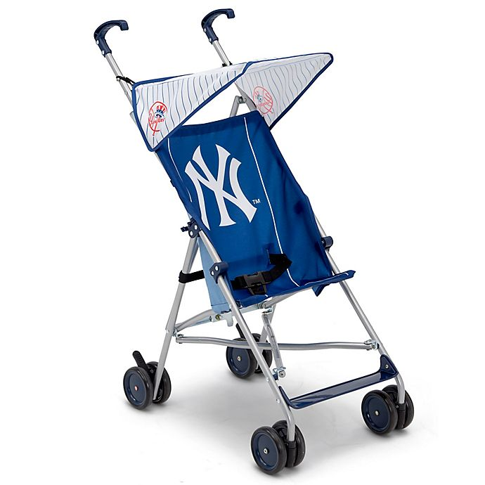 Alternate image 1 for MLB New York Yankees Lightweight Umbrella Stroller
