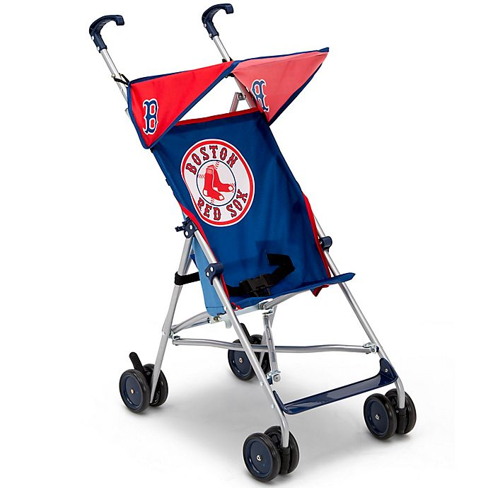 Alternate image 1 for MLB Boston Red Sox Lightweight Umbrella Stroller by Delta Children