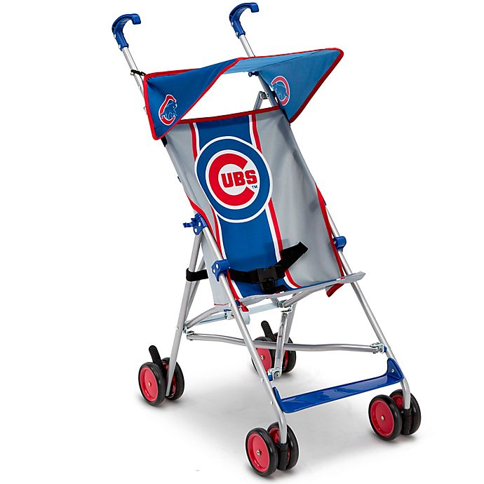 Alternate image 1 for MLB Chicago Cubs Lightweight Umbrella Stroller by Delta Children