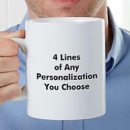 You Name It Personalized 30 oz. Coffee Mug