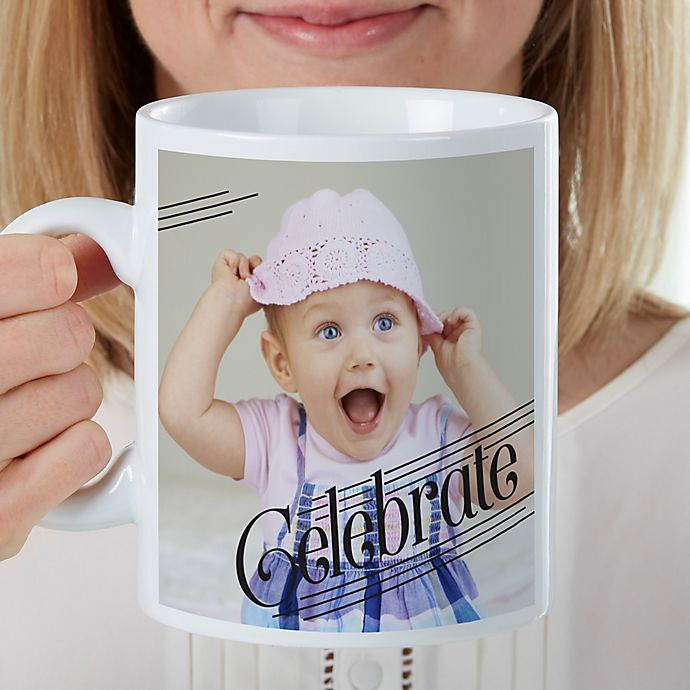 Alternate image 1 for Photo Expressions Personalized 30 Oz Coffee Mug