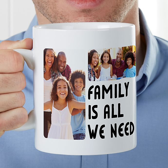 Alternate image 1 for 5 Photos Personalized 30oz. Oversized Coffee Mug