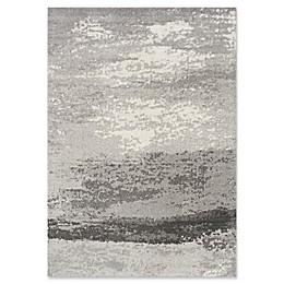 Novelle Home Fog Distressed Rug in Grey