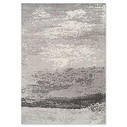 Novelle Home Fog Distressed Rug in Grey