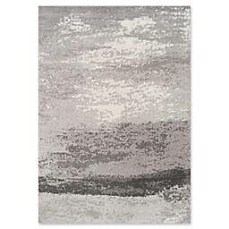 Novelle Home Fog Distressed 7'10 x 10'6 Area Rug in Grey
