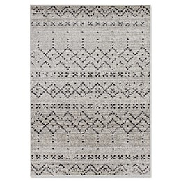 Novelle Home Tribal Area Rug in Grey