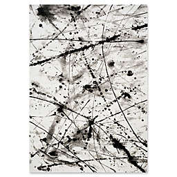 Novelle Home Paint Drips Area Rug