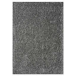 Novelle Home Shag Area Rug in Grey