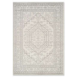 Novelle Home Traditional Area Rug in White