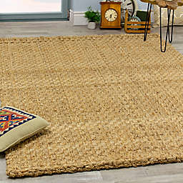 Novelle Home Basketweave Flat-weave Area Rug