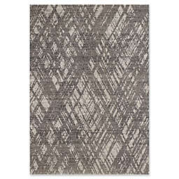 Novelle Home Zara Indoor/Outdoor Area Rug in Blue/Grey
