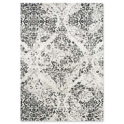 Novelle Home Damask Area Rug