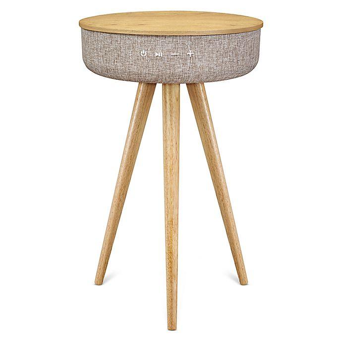 Alternate image 1 for Victrola™ Wood Speaker Table in Oak