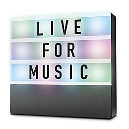Sharper Image® LED Cinema Light Box Speaker