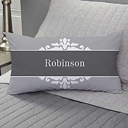 The Happy Couple Personalized Lumbar-Photo Pillow
