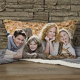 Photo Memories Personalized Lumbar Throw Pillow