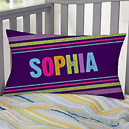 All Mine! Personalized Lumbar Throw Pillow