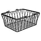Spectrum™ Twist Medium Storage Basket in Black