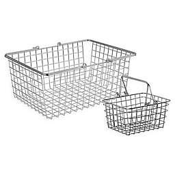 Spectrum™ Wire Basket in Chrome