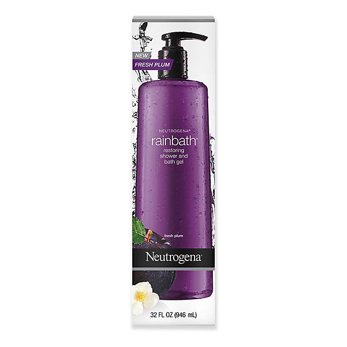 Alternate image 1 for Neutrogena® Rainbath® 32 oz. Restoring Shower and Bath Gel in Fresh Plum