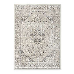 Bee & Willow™ Home Mayfair Medallion 7'10 x 9'10 Area Rug in Grey