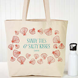 Coastal Home Personalized Beach Tote
