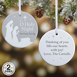 O Holy Night Personalized Ornament