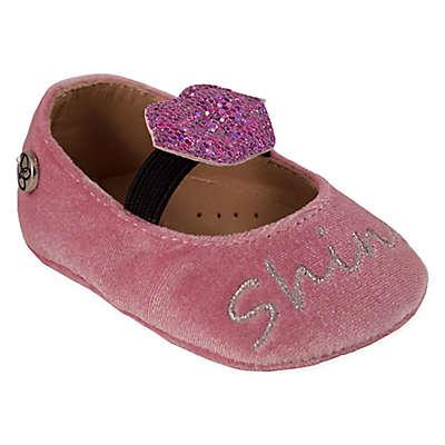 Jessica Simpson Felt Velvet Kiss Shoes in Blush