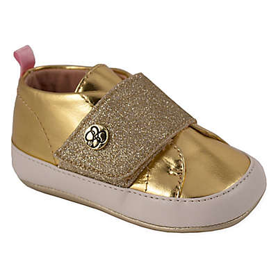 Jessica Simpson Metallic High Top Shoes in Gold